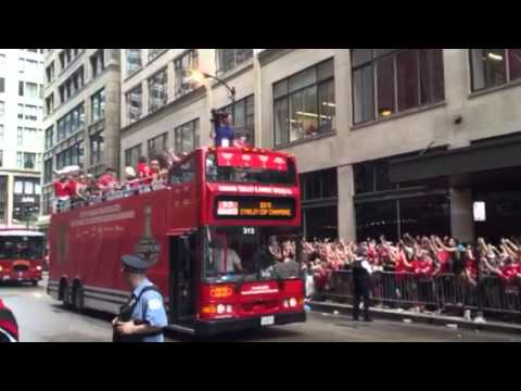 Chicago Blackhawks 2015 parade