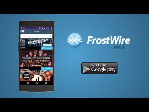 Introducing FrostWire Basic For Android