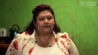 Refugiada guatemalteca rehace su vida en México