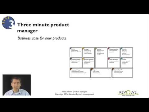 3 Minute Product Manager: Business Case for New Products