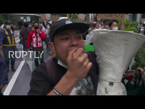 Japan: Thousands of BLM protesters march for racial justice in Tokyo