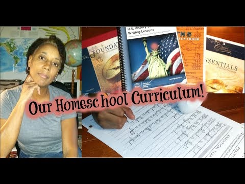 Homeschool Curriculum - Classical Conversations, etc.