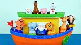 Игровой набор Ноев Ковчег - Развивающие игрушки для детей