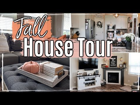 NEW! FALL HOUSE TOUR 2019 🍁 MODERN FARMHOUSE DECOR :: DECORATE WITH ME :: This Crazy Life