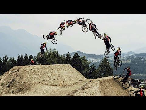 World's First Cash Roll-Tailwhip by Nicholi Rogatkin | Crankworx Innsbruck Winning Run