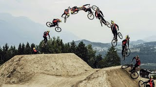 World's First Cash Roll-Tailwhip by Nicholi Rogatkin | Crankworx Innsbruck Winning Run
