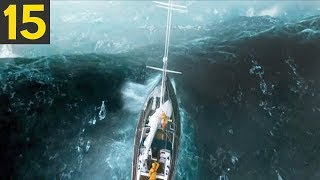 15 Ships Caught in HUGE Storms
