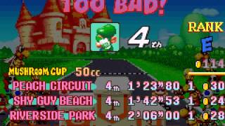 Vizzed.com Play - Ending if 4th place - Mario Kart - Super Circuit (GBA)