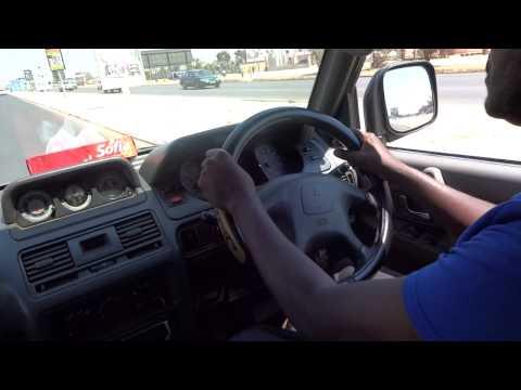 Driving in Lusaka, 2013