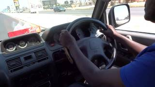 Driving in Lusaka, 2013
