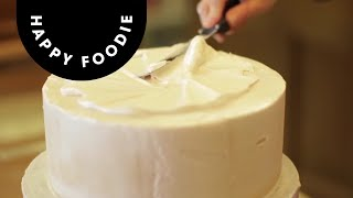 Coating a Cake with Royal Icing | Cake Techniques with Juliet Sear