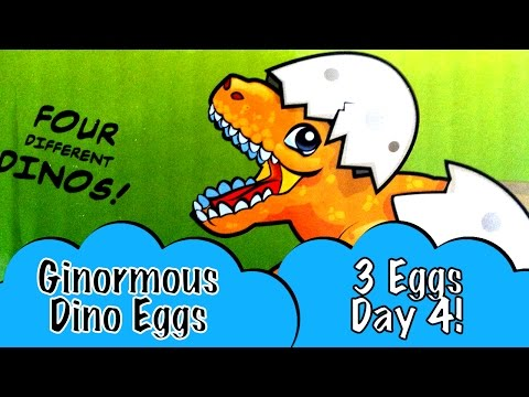 day-4-3-gigantic-dinosaur-eggs-watch-5-different-kinds-of-baby-dinosaurs-hatch-and-grow