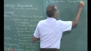 Mod-01 Lec-40 FMS Loading and scheduling, Summary of the course contents