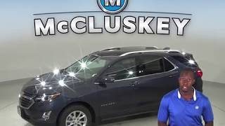 190704 Used 2019 Chevrolet Equinox LT FWD 4D Sport Utility Blue Test Drive, Review, For Sale -