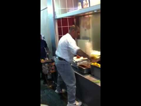 Fastest food service. Istanbul Turkey.