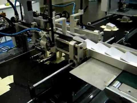 Europrogetti srl macchina per la produzione di scatole - Macchina per decorare carta ...