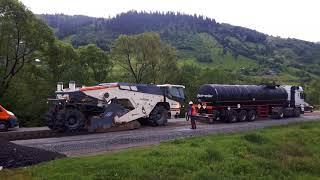 INRECO Remix - reciclare la rece a straturilor rutiere (asfalt/beton) - WR240i/WR2000