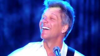 Jon Bon Jovi In These Arms Never Say Goodbye Runaway Tours 2015 Bahamas