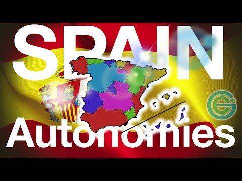 Autonomous regions of