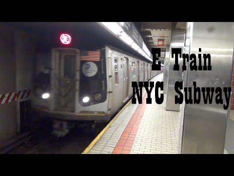 NYC Subway: E Train - Sutphin Boulevard station