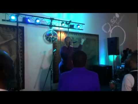 "Frenchie Davis ""I Am Changing"" LIVE at The Gentlemen's Ball"