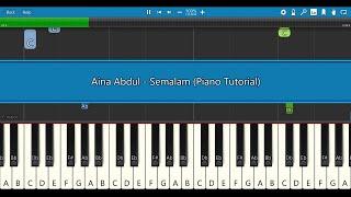 Download lagu Aina Abdul - Semalam (Piano Tutorial)