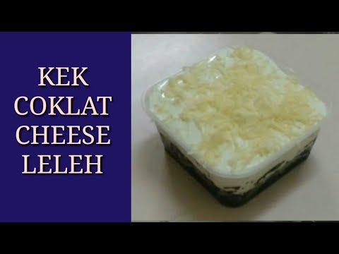 KEK VIRAL | Kek Coklat Cheese Meleleh