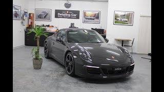 Detailing Car - Porsche 911 4s Exclusive -Traitement Véhicule Neuf