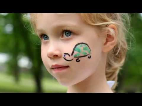 Simple Face Painting Designs For Cheeks Youtube