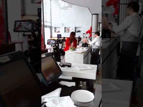 Film shooting at Larte Abu Dhabi