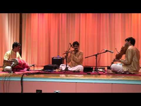 IAACM Presents: Flute Raman in Concert - Govardhana Giridhara - Daabari Kaanada - Adi Tala - CL58