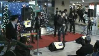 アカペラヴォーカルグループ CubiX クリスマスソングメドレー 2009.12.2...