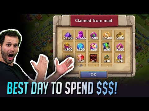 BEST Days To Make Purchases On Castle Clash Explained!