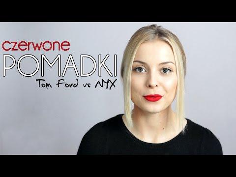 CZERWONA POMADKA ♡ NYX VS Tom Ford Lip Color Matte ♡ Recenzja Pomadki