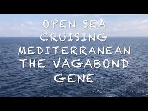 Open Sea Cruising Mediterranean Sea Relaxation Video