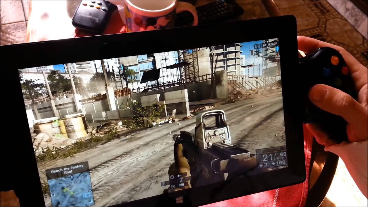 Diy Docking Station Surface Pro 2 Mod Gaming Battlefield 4 Youtube