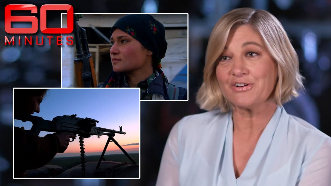 """""""Are you sure you want to go?"""": Meeting the female fighters who took on ISIS 