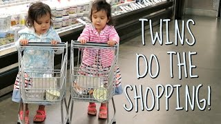 TWINS DO THE SHOPPING! - August 18, 2016 -  ItsJudysLife Vlogs