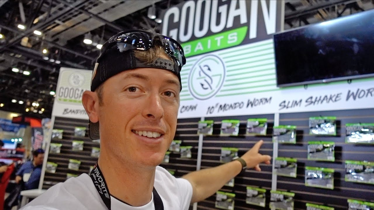 Giving Away 100 Bags of GOOGAN BAITS and NEW Fishing Rods from iCast