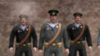 Men of War: Russian Civil War Mod- Volga River
