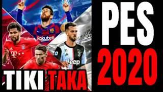 Tiki Taka PES 2020 part l #pes2020 #tikitaka