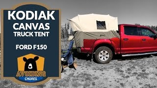⛺ Kodiak Canvas Truck Tent- F150 Short Bed Setup and Overview