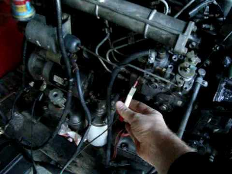 isuzu d201 diesel engine youtube isuzu diesel engine wiring diagram  isuzu npr ignition wiring schematic