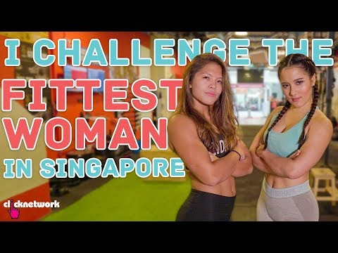 I Challenge The Fittest Woman in Singapore - No Sweat: EP10