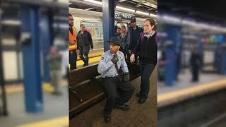 MTA conductor speaks out after being stabbed on subway platform