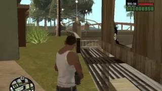 GTA San Andreas Misterio #1 - Letrero Rompible Sin Mision Del Motel Jefferson