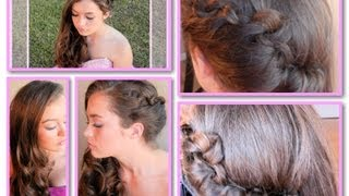 Easy Side-Swept Hairdo for Graduation, Wedding, or Other Formal Event Thumbnail