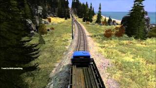 DayZ SA - V3S truck becomes a Thomas engine to avoid hill