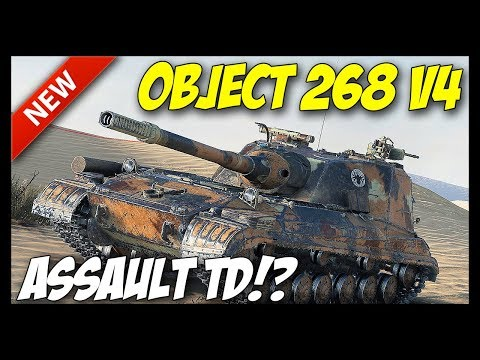 ► Object 268 Version 4 - Assault Destroyer?! - World of Tanks Object 268 Version 4 Preview