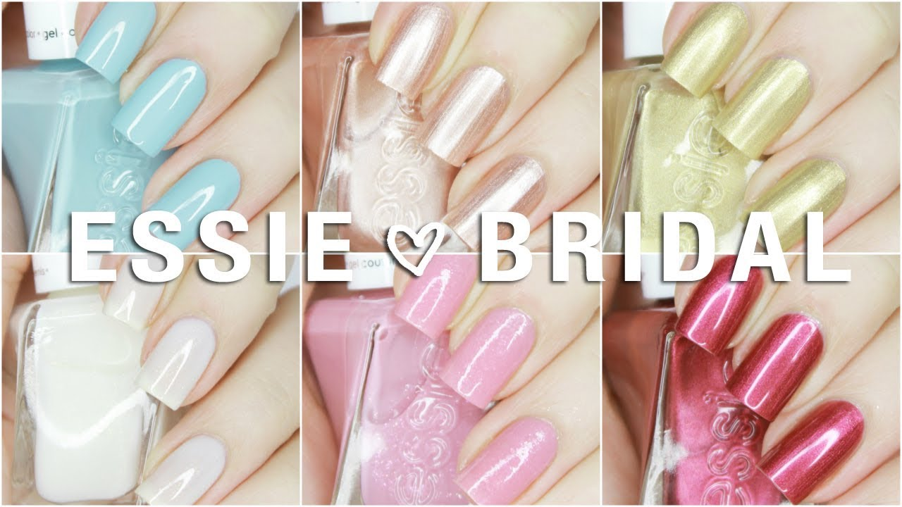 NEW Essie Gel Couture Spring 2018 Reem Acra Wedding Collection ...